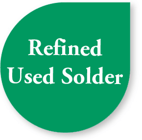 refined-used-solder
