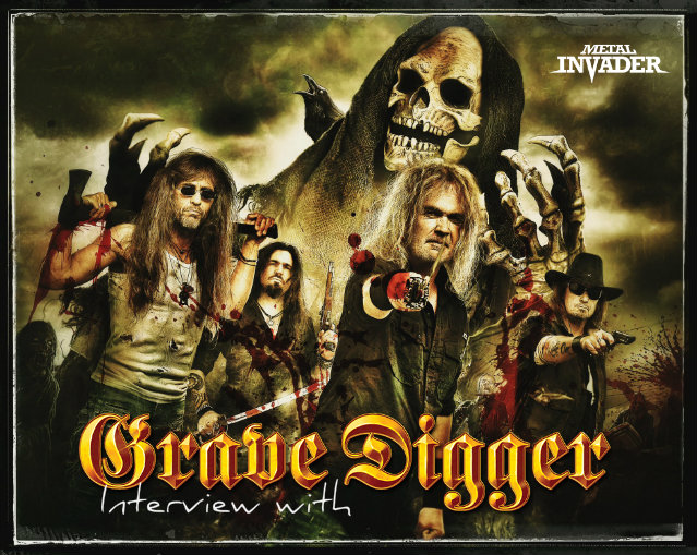 interview with grave digger metal invader