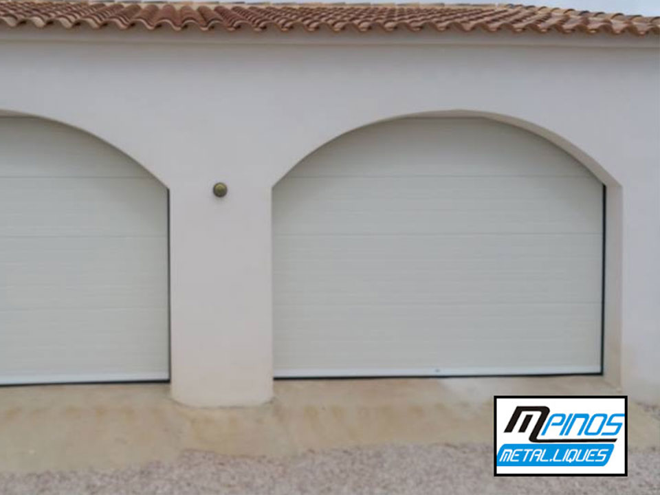 puerta seccionable