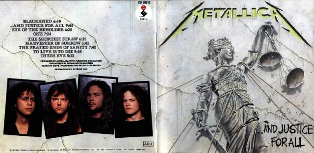 METALLICA - ...and justice for all - Front