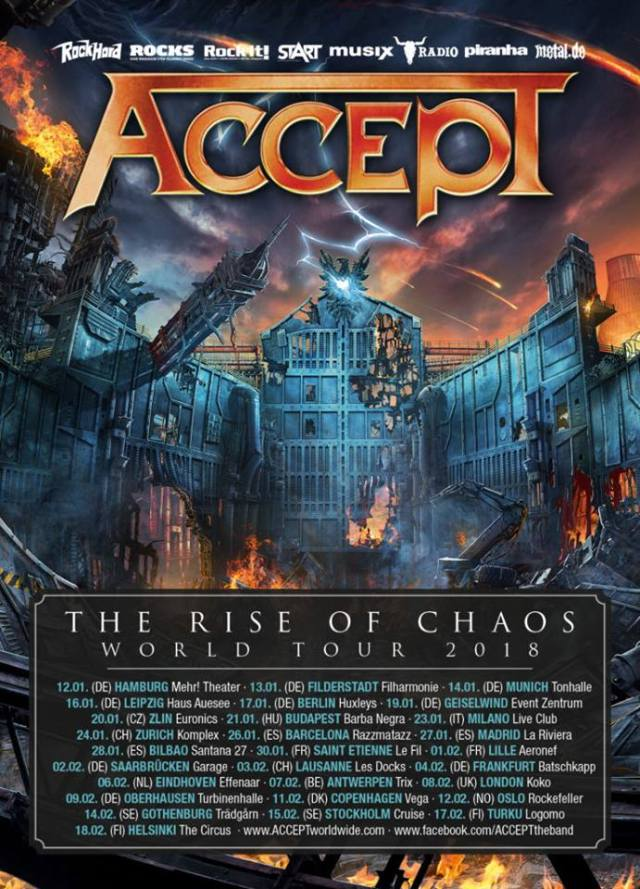 The Rise Of Chaos Tour