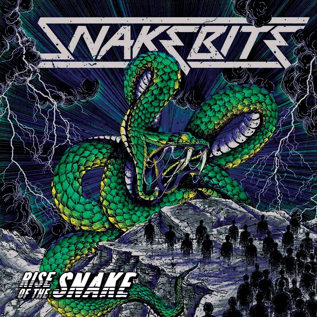 Review: Snakebite - Rise Of The Snake - Metal Jacket