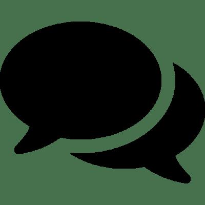 Kontaktformular Sprechblasen