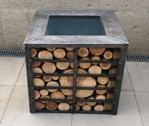 Hochbeet Metall Holz