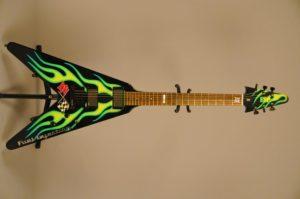 "James Hetfield ""Hot Rod"" Green JH-1"