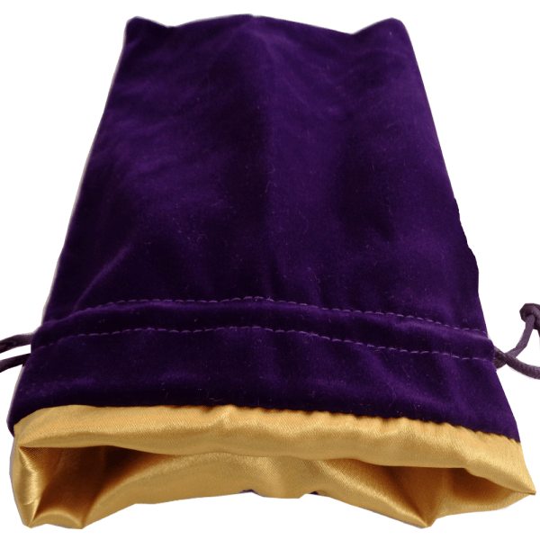 Purple Dice Bag