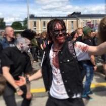 #bloodbath #maskit #tuska #yleisöä #paint