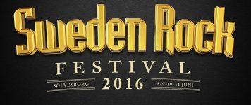 Sweden Rock Festival 2016 ennakko