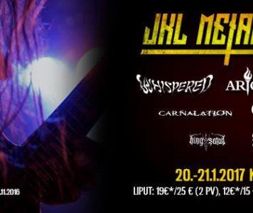 JKL Metal Festival käynnistyy tänään!