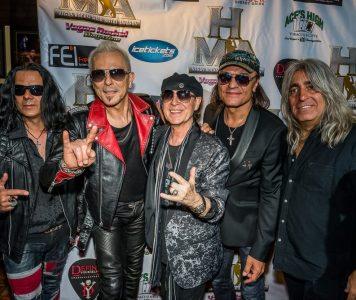 Scorpions Hartwall Arenalle marraskuussa