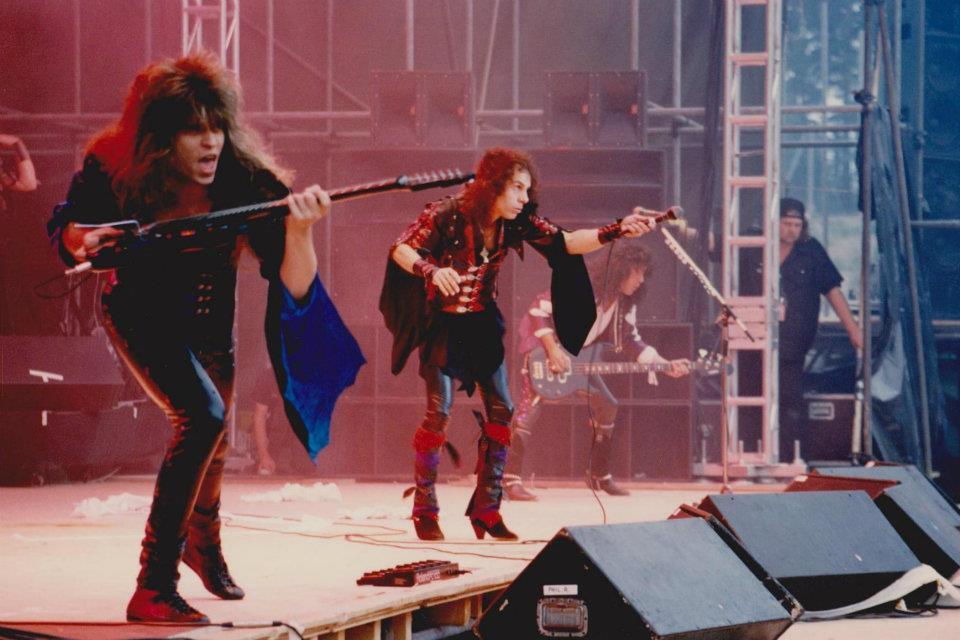 Dion keikka Giants Of Rockista Ahveniston Moottoriradalta 1987...