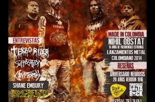 Décimo tercera versión revista virtual Metal Live Colombia