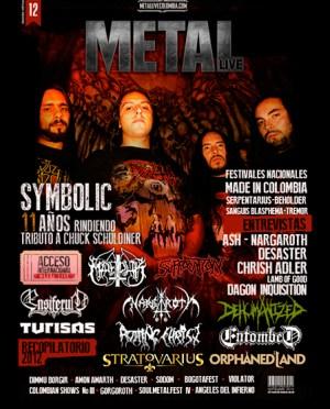 Decimo segunda edición revista virtual Metal Live Colombia