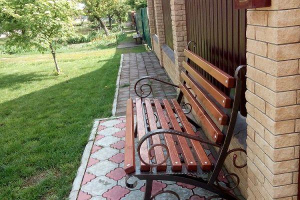 Купить скамейку садовую со спинкой в Рязани