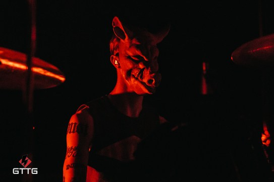 Pig performing at Epic Studios Norwich on 17 March 2017 on the Swine and Punishment Tour.