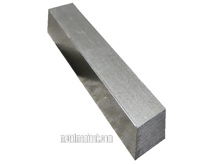Bright Mild Steel Square Bar 25mm X 25mm