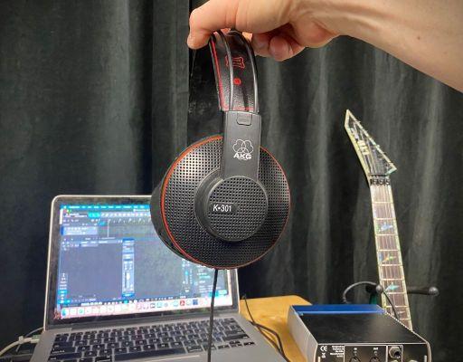 AKG K-301 studio headphones