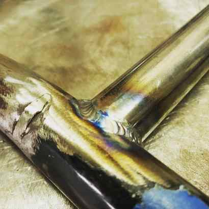 motorcycle frame tubing tig welding