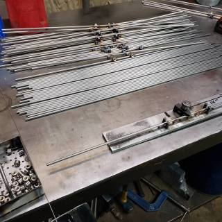 Stainess Steel Guide Rail Production 1