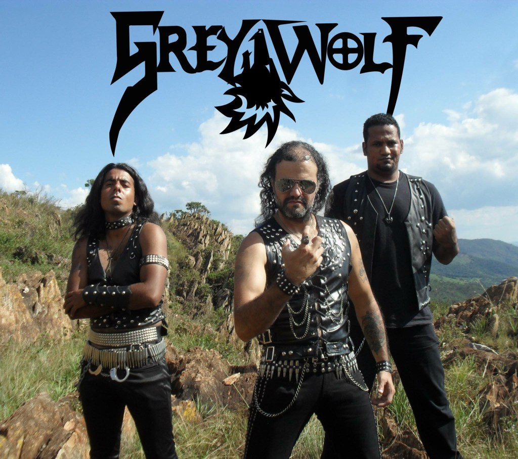 Brazil's Grey Wolf Merges Heavy Metal with Conan the Barbarian