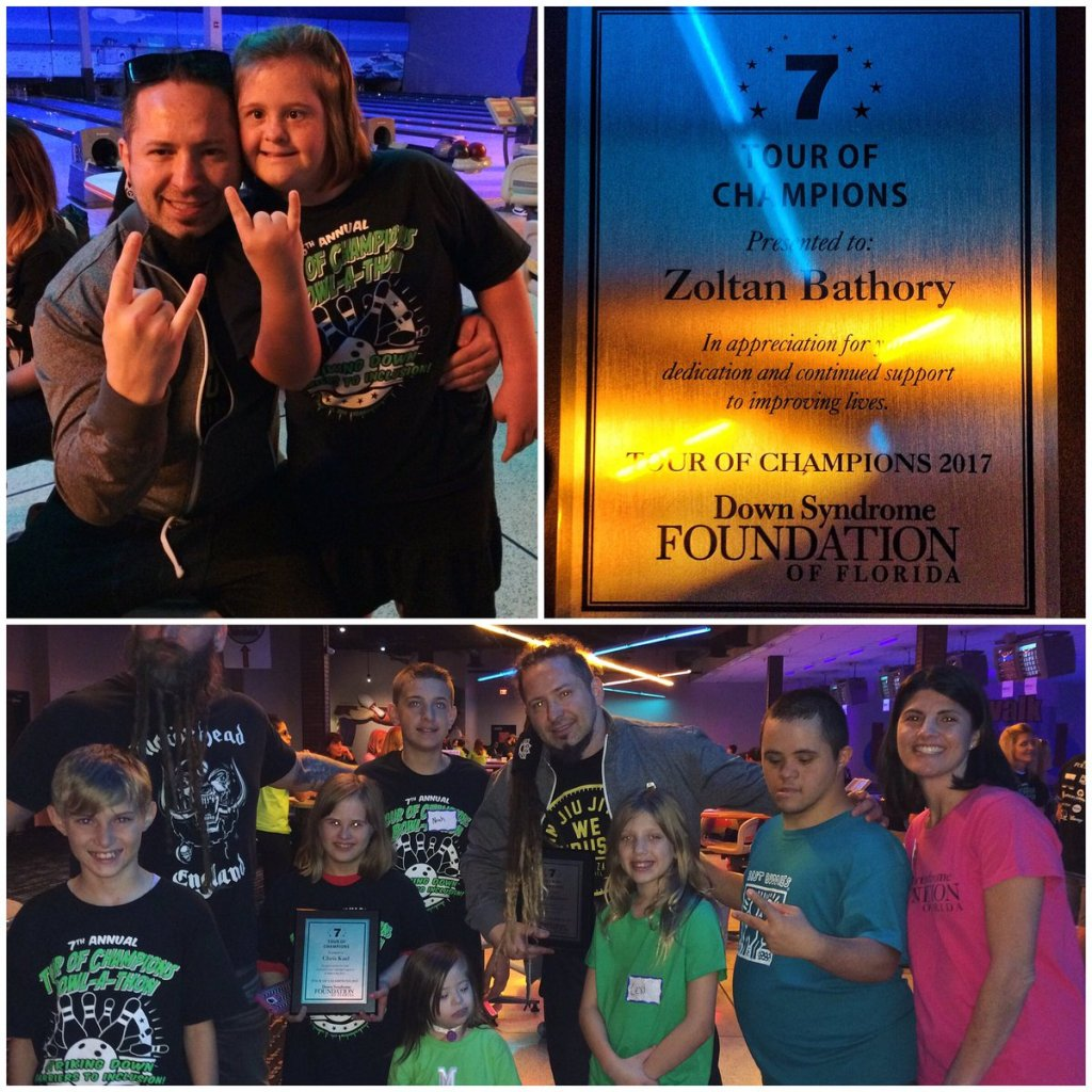 Zoltan Bathory Deserves Praise For His Charity Work For Down Syndrome Kids