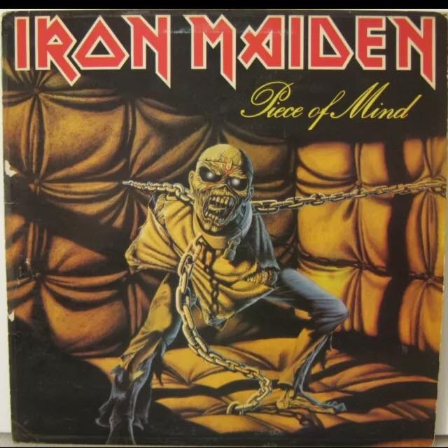 Iron Maiden-Piece Of Mind : Must Own Heavy Metal/Hard Rock Albums