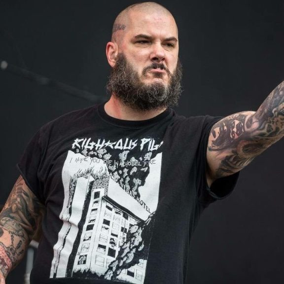 Metal Legend Phil Anselmo At 49 Years Old.
