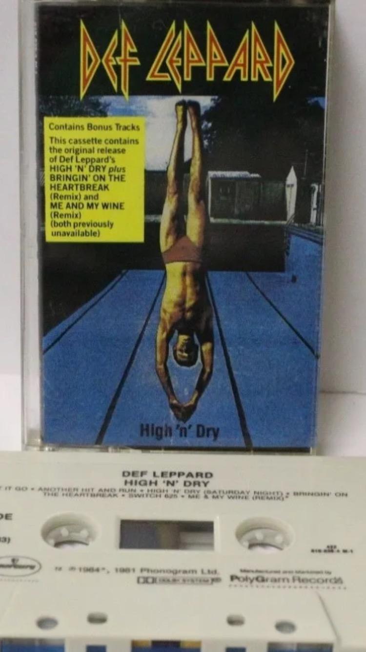 Def Leppard-High 'n' Dry : Must Own Heavy Metal/Hard Rock Albums
