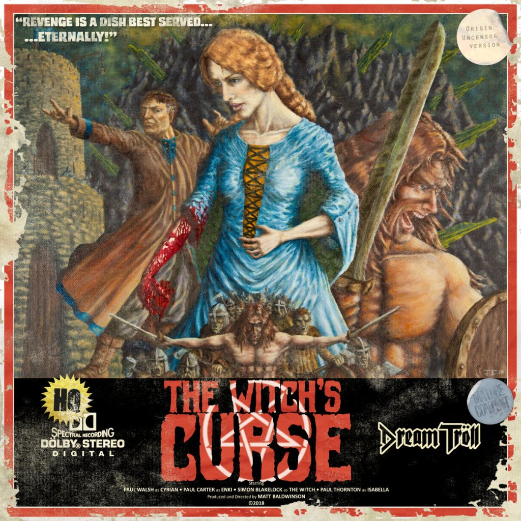 Album Review: Dream Tröll, 'The Witch's Curse' EP