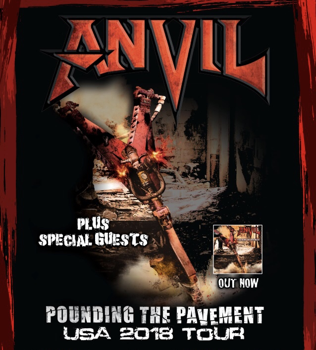 ANVIL to Embark on US Tour