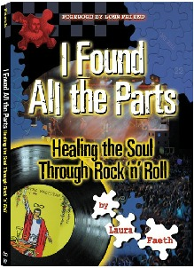 """""""I Found All The Parts"""" Laura Faeth book cover"""