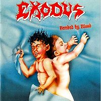 "EXODUS ""Bonded By Blood"" original album cover large pic"