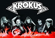 Krokus collage band photo 2009