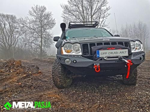 Wyprawowy jeep grand cherokee wk modyfikacja offroad