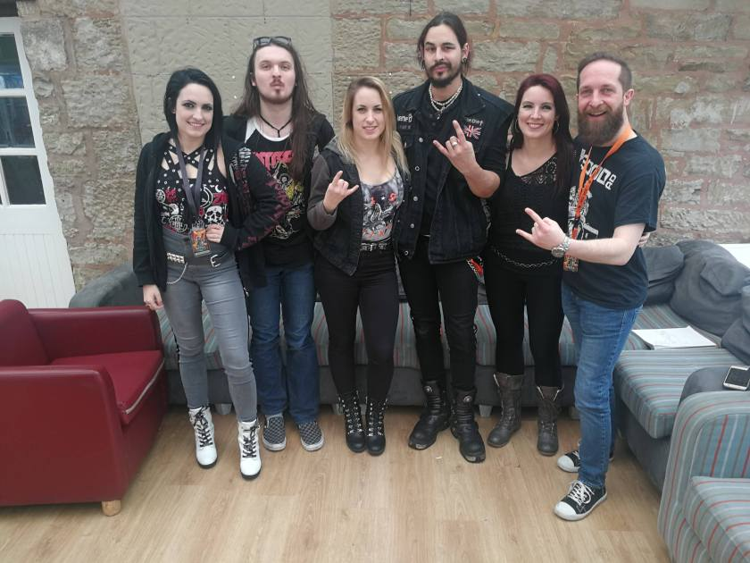 Interview: Happy Metal Geek Talks to KANE'D At HRH AOR 2019 – Metal