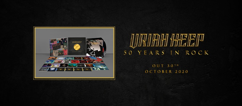 On 30th October 2020 Bmg Proudly Release Uriah Heep S Fifty Years In Rock Metal Planet Music