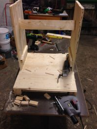 Arcade cabinet: building the frame