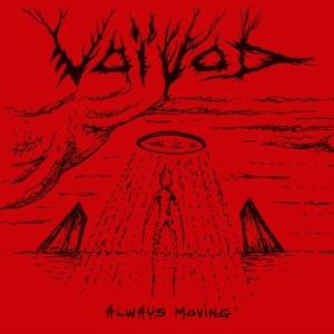 Voivod Always Moving Cover Art