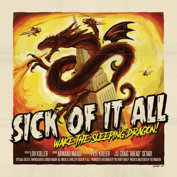 Sick of it All Wake the Sleeping Dragon Album cover