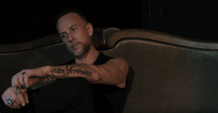 Nergal from black metal band Behemoth