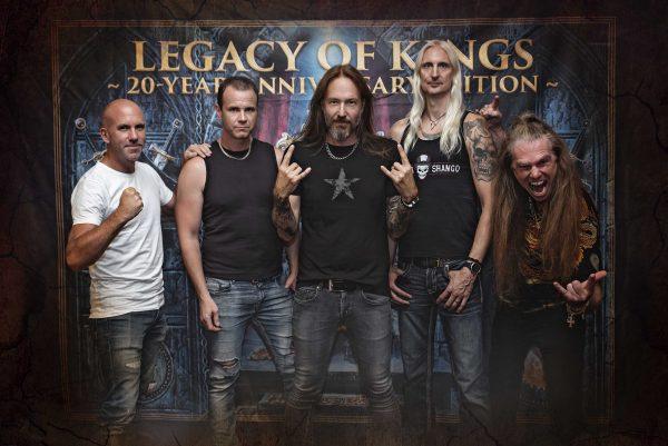 Hammerfall Legacy of Kings