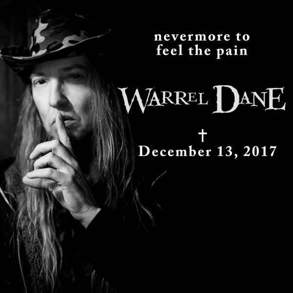 Warrel Dane RIP