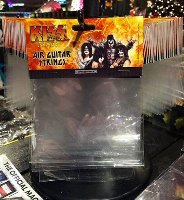 Kiss Air Guitar Strings