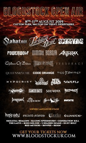 Bloodstock March Lineup