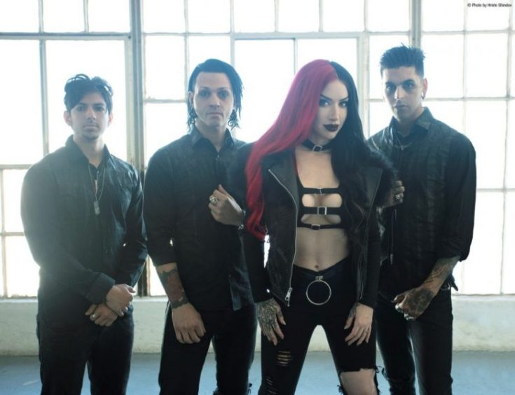 New Years Day Band Photo Ash Costello