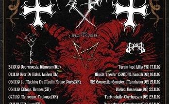 Mayhem tour poster image