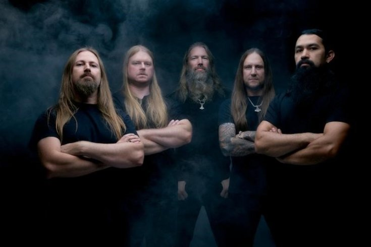 Amon Amarth band photo.