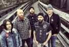 Killswitch Engage Band photo, Metal, Wooden Bridge Backdrop