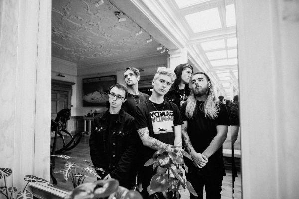 Band Image, Black & White, Group Shot, Doorway, Rock, Metal
