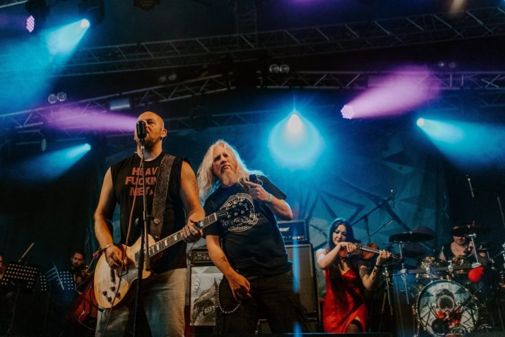 Resin bring their unique sound to Bloodstock 2019